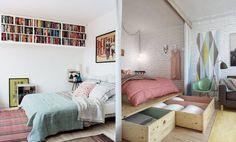 Wnętrza Zewnętrza: Gdy brakuje miejsca na łóżko
