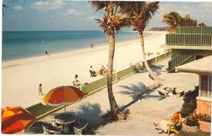 oldflorida:  It's a quiet day on old St. Pete Beach