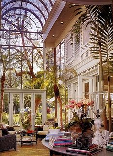 Rustic & Grand Conservatory