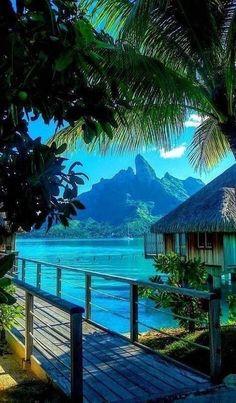 French Polynesia #romantictravellocations
