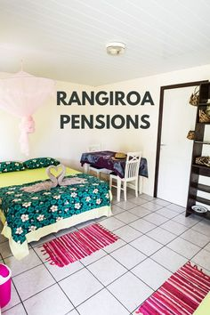 A guide to the pensions available on the island of Rangiroa in French Polynesia.  #frenchpolynesia #rangiroa #wanderlust