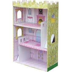 Google image search. No source. DIY castle from bookshelf?