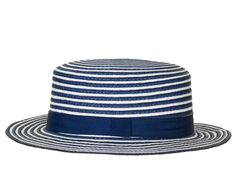 Topshop's nautical striped hat is perfect for a summer boat day