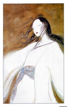 by Yoshitaka Amano, from Sandman:the Dream Hunters