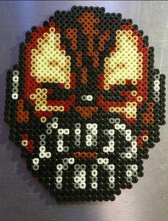 Bane Batman hama perler beads