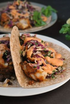 Not so long ago, right before my kitchen got ripped out, Mr. Prevention and I had a hankering for some tacos. And not just tacos, but fish tacos. We're lovers of seafood and all Mexican food, so it's