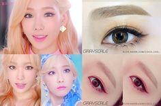 Girls' Generation's Lion Heart Comeback! Taeyeon's Vintage Retro Eye Make Up Tutorial  안녕하세요 코코초입니다! 하나만 올라오면 섭하져! 활동곡이 두갠데! 둘 다 메이크업 예쁜데! 그래서 Lio...