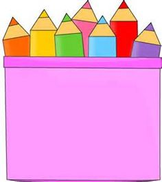 Colored Pencils in a Pencil Holder Clip Art - Colored Pencils in a Pencil Holder Image Colored Pencil Holder, Colored Pencils, Kids Room Art, Art For Kids, Music Flashcards, Pencil Clipart, School Board Decoration, Educational Activities For Preschoolers, Classroom Birthday
