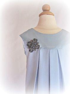 """Tiffany"" Girl's Dress by Serepdipity Designz"