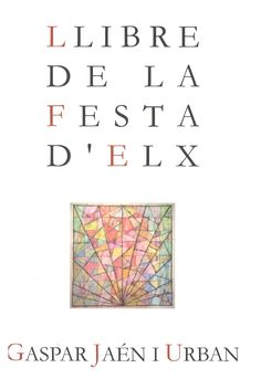 La Universidad de Alicante edita la versión definitiva, revisada y ampliada de la obra del mismo título publicada en Elche en 1984. El autor hace un repaso exhaustivo de los elementos constitutivos de la Festa, como el idioma, origen o preparativos, entre otros.  http://rua.ua.es/dspace/handle/10045/52100 http://www.laverdad.es/alicante/culturas/201602/18/gaspar-jaen-revisa-amplia-20160218013234-v.html