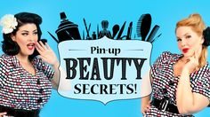Pin-up Beauty Secrets with Stela Licina and Elly Mayday - Part 4