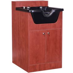 Merveilleux Cherry Pearwood Shampoo Cabinet With Bowl SU 21CP