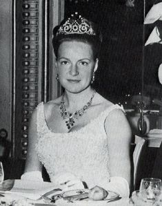 The Princess Irene of the Netherlands (b. 1939). She is a daughter of The Prince Bernhard of Lippe-Biesterfeld and his wife, Queen Juliana I. She was the wife (1964-1981) of The Prince Carlos Hugo of Bourbon-Parma. Her children are The Princes Carlos and Jaime, and The Princesses Margarita and Carolina.