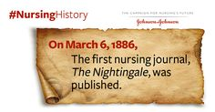 In March 1886, the first #nursing journal was published. #NursingHistory