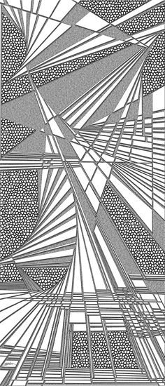 sazed - Dynamic black and white optical obsession, organic abstract by Douglas Christian Larsen, homage and tribute to Brandon Sanderson and his novel The Hero of the Ages - http://fineartamerica.com/featured/sazed-douglas-christian-larsen.html