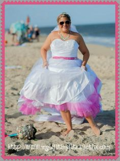 Real Women/Real Brides Alfred Angelo Dress Cinderella 205! Rachel makes the dress work for her!