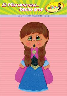 Miss Dorita: Ana de Frozen