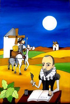 Quijote  60x40 cms  Óleo sobre lienzo