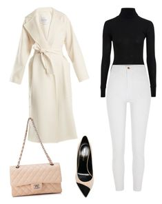 """""""Untitled #43"""" by ireinad1 ❤ liked on Polyvore featuring Topshop, River Island, MaxMara, Yves Saint Laurent and Chanel"""