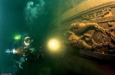 15 of the World's Most Strange Abandoned Places - Underwater City in Shicheng, China