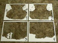 Paper Cut Shadow Box - 3 - Deutsch
