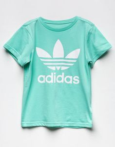 Adidas girls clothes dog posts on f a s h i o n p sport outfits sporty outf Kids Outfits Girls, Teenager Outfits, Girl Outfits, Crop Top Outfits, Cute Casual Outfits, Addidas Shirts, Looks Adidas, Adidas Outfit, Shirts For Teens