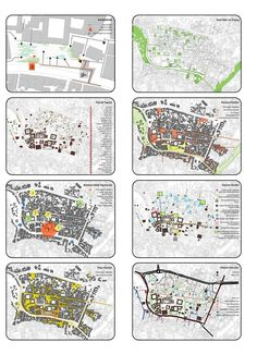 Concept Board Architecture, Site Analysis Architecture, Architecture Site Plan, Architecture Graphics, Ancient Architecture, Landscape Architecture, Urban Design Diagram, Urban Design Plan, Urban Mapping