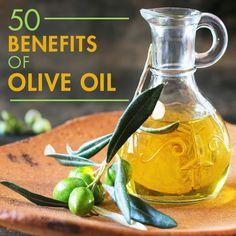 50 Benefits of Olive Oil #oliveoil #benefitsofoliveoil