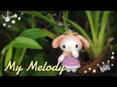 English Sub/ถักตุ๊กตาโครเชต์ Part 1-2/ Crochet My melody - YouTube