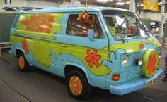 a 1972 Bedford CF Mystery Machine. Hey there, Scooby!