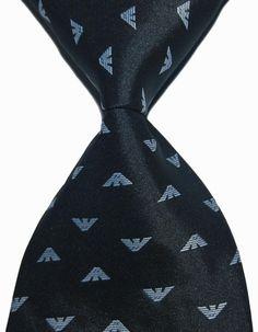 Designer Brand Classic 100% Silk Men's Necktie