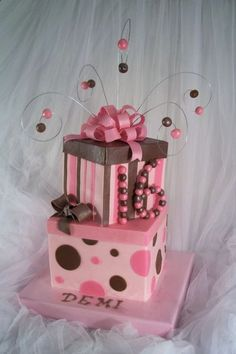 Great 16th Birthday cake
