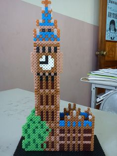Big Ben - hama perler beads
