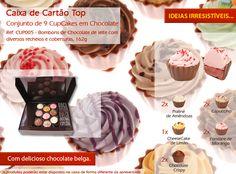 Já conhece os nossos Cupcakes? Tantos sabores para descobrir!