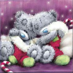 Christmas Tatty Teddy Bears <3