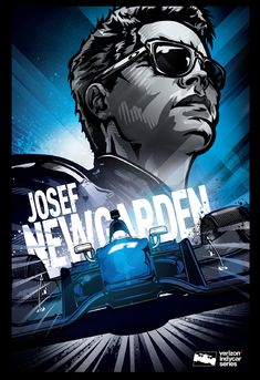 """348591f23d07c0 Check out this  Behance project  """"Josef Newgarden Indycar poster"""" https"""