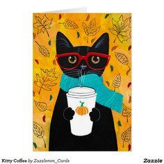 Kitty Coffee Card