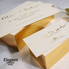 Place Cards, Place Card Holders, Elegant, Classy, Chic