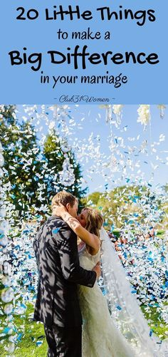 What goes into a joyful and loving marriage? So much is made up of these small things. So beloved bride -whether newly married or not- here's a gift for you! ~ Club31Women