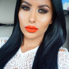 """This makeup  @amrezy wearing New 3D Mink @LillyLashes in style """"Cannes"""". #GhalichiGlam #LillyLashes"""