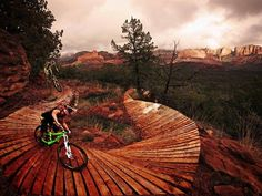 Sedona Mountain Biking.