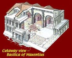 basilica of maxentius and constantine reconstructed - Yahoo Image Search Results