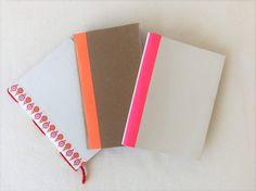 Libretas DIY // DIY notebooks