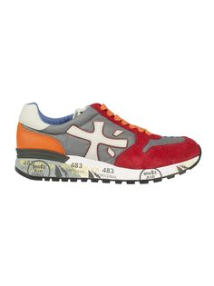 cb1ed35774 Compare and shop Premiata Mick Sneakers from stores, starting at Similar  ones also available. Grey leather and suede Mick sneakers from Premiata.