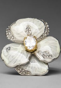 Pave Pansy Ring...Juicy Couture ✿