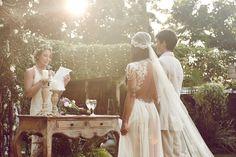 casamento boho - cerimonia