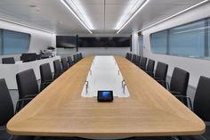 IOCC Lufthansa Control Center by Pielok Marquardt Architekten & Licht01, Frankfurt – Germany » Retail Design Blog