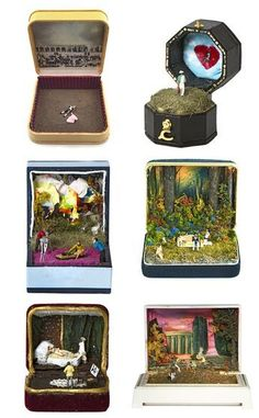 Talwst Santiago... love his jewelry box miniatures. Follow him on instagram for more: http://instagram.com/talwst