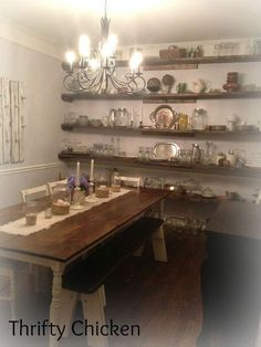 rustic charm in the dining room, dining room ideas, how to, rustic furniture, woodworking projects