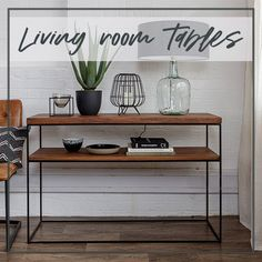Industrial Oak Console Table crafted with solid European oak and a slim Black Steel frame. Luxury Hallway Console Table with Free UK delivery! Hallway Furniture, Solid Oak, Steel Frame, Console Table, Industrial Style, Entryway Tables, Living Room, Design, Home Decor